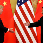 Trump marca gol frente a China